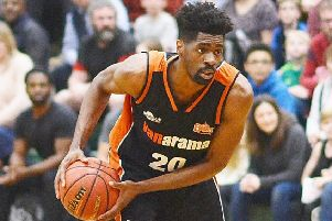 Storm's TrayVonn Wright had a double-double of 31 points and 12 rebounds. (Picture by Lin Titmuss).