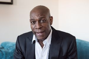 Frank Bruno. Photo: Jason Dimmock NNL-180902-094505001