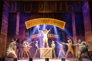 Madagascar The Musical, which is produced by Selladoor