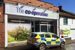 Kineton Co-op in Banbury Street was targeted by thieves