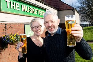 The Musketeer, Banbury.  Simon Parish and Simone Kelly have won a national award after taking over less than a year ago NNL-190603-163853001