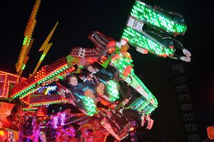 Fairground rides at Fair Meadow car park EMN-190316-170910009