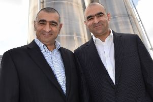 Signature Flatbreads owners William and Charles Eid. Photo by Jane Russell.