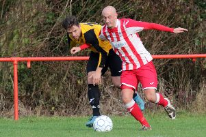 Andrew Stidder put Easington Sports back on level terms in cup tie