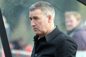 Banbury United manager Mike Ford NNL-190324-110009009