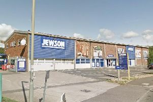 Jewson builders' merchants in Banbury was burgled. Photo: Google