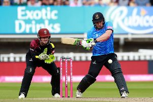 Luke Wright is looking forward to concentrating his efforts on the Vitality Blast - as seen here - and the One Day Cup / Picture by Stephen Lawrence