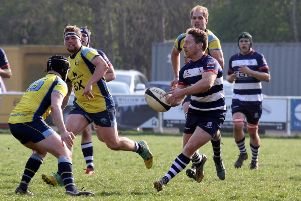 Justin Parker completed a hat-trick of tries for Banbury Bulls against Witney