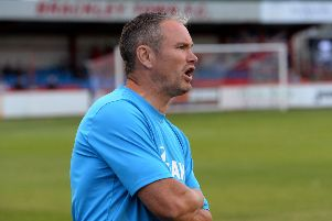 Brackley Town manager Kevin Wilkin will be looking to seal third spot today