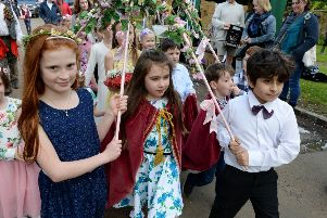 Hornton May Day celebrations in a previous year NNL-170105-222913009