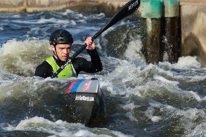 Rob Jefferies is off to the European Wildwater Championships in Slovenia. Photo: Peter Schofield