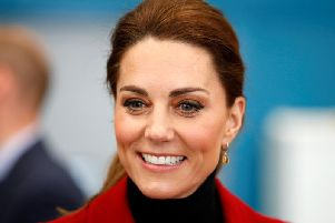 The Duchess of Cambridge will be in Milton Keynes on Tuesday