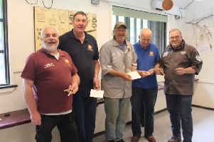 The West Sussex Woodturners Club made 100 pens in support of veterans SUS-190522-102449001