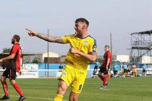 New Hemel striker Alex Wall, who was the league's top scorer with Concord Rangers last term, is reuniting with his old boss Sammy Moore for the 2019/20 campaign.