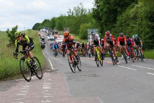 The OVO Energy Women's Tour heading from Henley to Blenheim Palace on Tuesday but ten riders crashed out near Didcot. Photo: Simon Grieve NNL-190613-092532002