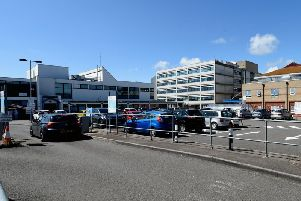 Worthing Hospital was one of two hospitals in Sussex affected by the outbreak
