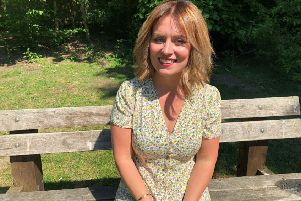 Shared Lives social worker Becky Lee. Photo: Oxfordshire County Council NNL-190626-095818001