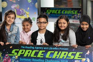 Join the Space Race summer reading challenge
