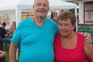 Stan and Pat, whose friend Linda Wren has set up a GoFundMe page for