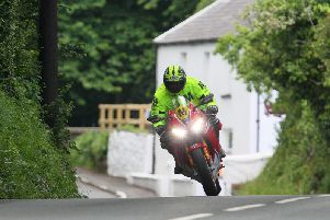 Practice at the Classic TT and Manx Grand Prix was cancelled on Tuesday evening due to wet weather. File picture.