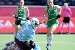 Ayeisha McFerran and Ireland face Canada for a spot at the Olympic Games. Pic by Frank Uijlenbroek.
