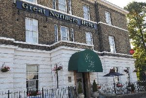 The Great Northern Hotel near the station