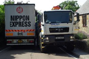 A common sight in Farthinghoe