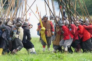 Image for the Battle of Edgehill re-enactment held at the Kineton Sports and Social Club in Kineton