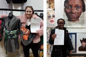 Budding young artists from Wootton Upper School in Bedford are preparing to showcase their work in a gallery-style summer exhibition.