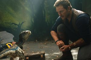 Chris Pratt as Owen Grady