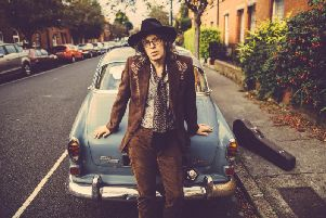 Mike Scott of The Waterboys. Picture: Dara Munnis