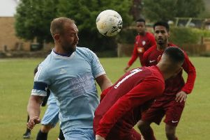 Ickwell v Queens Park Crescents. Picture: David Kay