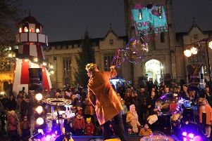 The launch of Christmas in town organised by the Love Bedford team and friends