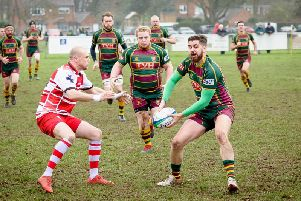 Old Laurentians' next league game is the eagerly awaited derby with Rugby St Andrews on March 2 at Fenley Field