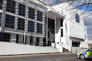 The Justice Centre in Leamington which houses Warwickshire Magistrates' Court and Warwick Crown Court.