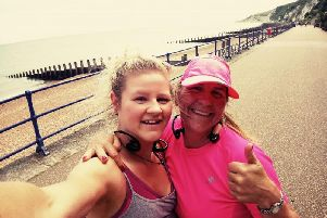 Katie Veever is raising money for Chestnut Tree House by running the Brighton Half Marathon