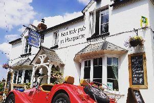The Wonston Arms has been named the best pub in the country. Picture: CAMRA/PA Wire