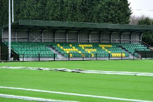 Horsham's new ground in taking place at Hop Oast. Picture by Steve Robards. SR1907729
