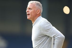 Keith Curle, Cobblers boss. Picture: Pete Norton