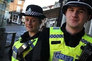 Police volunteers have donated a staggering 64,000 hours in the past year. ANL-190306-123140001