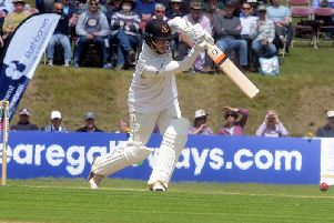 Will Beer on his way to his best first-class score / Picture by Kate Shemilt