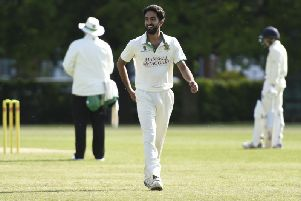 Junaid Nadir took five wickets for Burgess Hill
