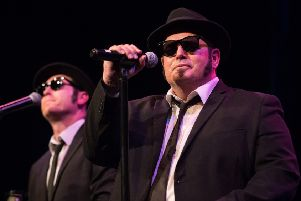 Chicago Blues Brothers. Picture: Jonathon Cuff