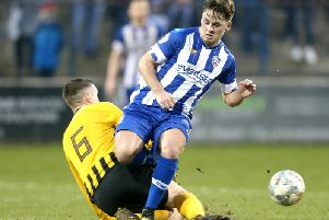 Coleraine's Ben Doherty was frustrated after their draw with Institute.