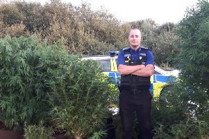 PCSO Ed King with Warwick Rural East Safer Neighbourhood Team (SNT)