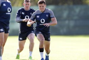 Ireland winger Jacob Stockdale
