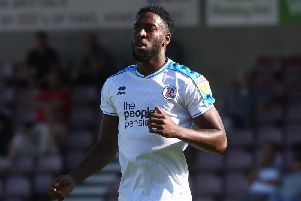 Crawley Town's Nathan Ferguson. Picture courtesy of Getty Images