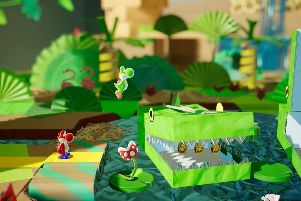 Yoshi's Crafted World is gorgeous and addictive