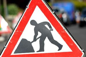 Road works planned.
