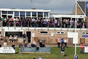A good crowd was on hand for the season opener at Waverley Road